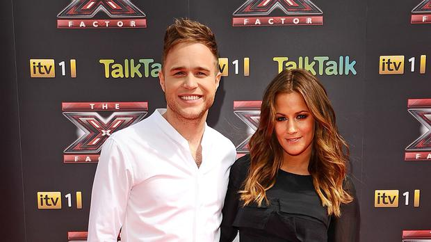 Olly Murs and Caroline Flack who are to present The X Factor following Dermot O'Leary's departure after eight years.