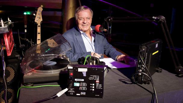 Tony Blackburn was slapped on the wrist by BBC bosses after sending a live video from Broadcasting House using a new app