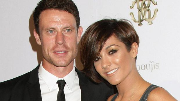 Frankie Bridge with her husband Wayne