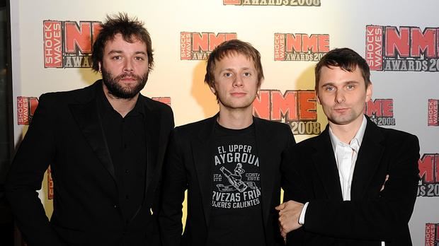 Muse's Christopher Wolstenholme, Dominic Howard and Matthew Bellamy are playing the Radio 1 Big Weekend