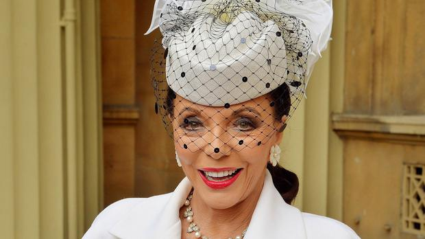 Dame Joan Collins clarified on Twitter that she has not been arrested