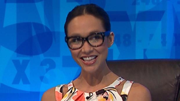 Myleene Klass came up with an unexpected eight-letter word in Channel 4 show Countdown (Channel 4/PA)