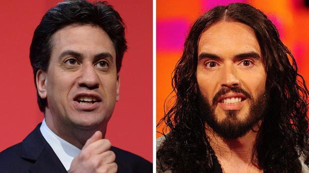 Ed Miliband and Russell Brand met late last night for a TV interview