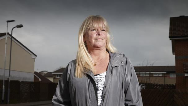 Julie Young is to feature in the new series of Benefits Street which was filmed on Kingston Road in Stockton-On-Tees (Channel 4/PA)