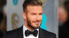 David Beckham is celebrating his 40th birthday this weekend