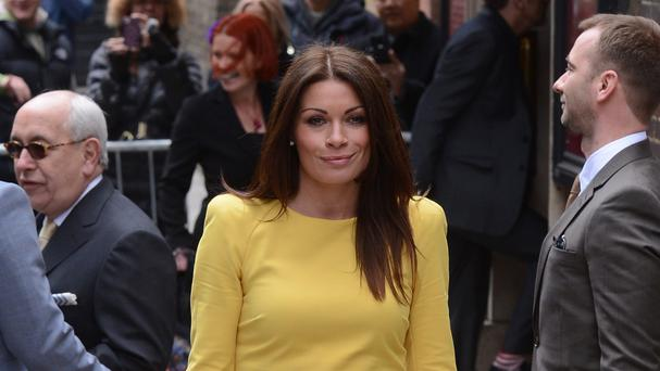 Alison King has been in Coronation Street for nine years