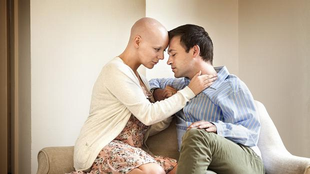 Sheridan Smith as Lisa Lynch and Paul Nicholls as Pete Lynch in the BBC's The C-Word