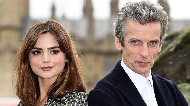 The new series of Doctor Who, starring Jenna Coleman and Peter Capaldi