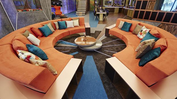 Housemates can lounge in the living area of the new look Big Brother House
