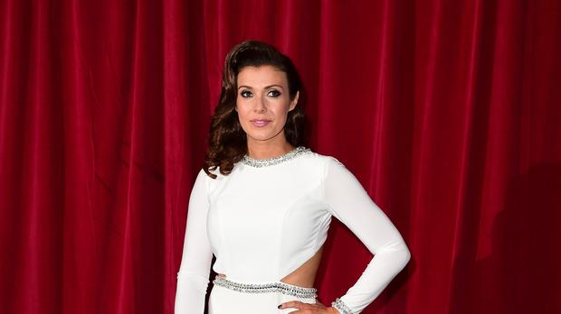 Kym Marsh attending the British Soap Awards at the Palace Hotel, Manchester.