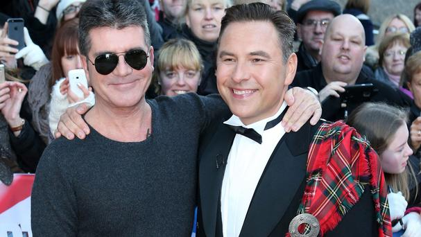 Simon Cowell (left) and David Walliams, two of the Britain's Got Talent judges