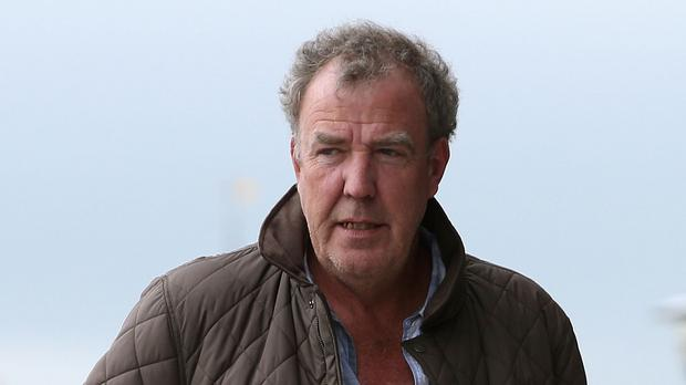 Jeremy Clarkson arrives at the Odyssey Arena, Belfast, ahead of the opening of the Clarkson, Hammond and May Live show