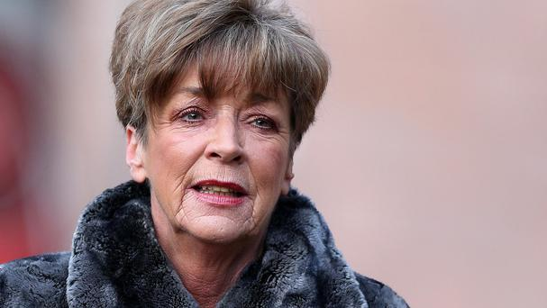 Anne Kirkbride was beautiful but without vanity, said Roache