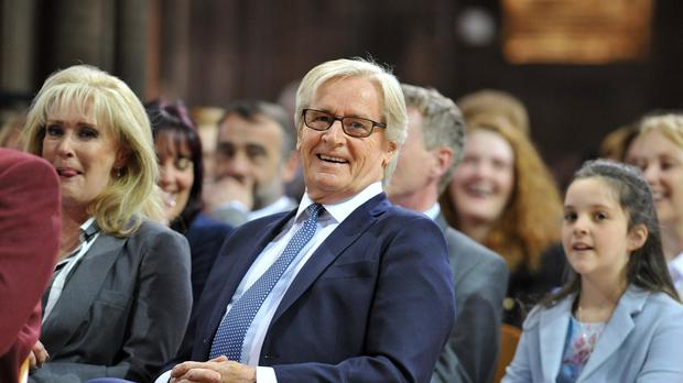 Beverley Callard and William Roache attend a memorial service for Coronation Street star Anne Kirkbride at Manchester Cathedral