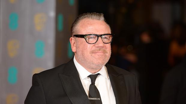 Ray Winstone said he liked to give himself a tanned look before jetting off on holiday