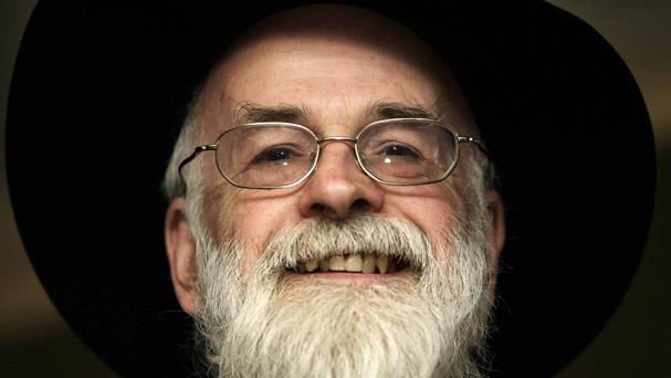 The late Sir Terry Pratchett