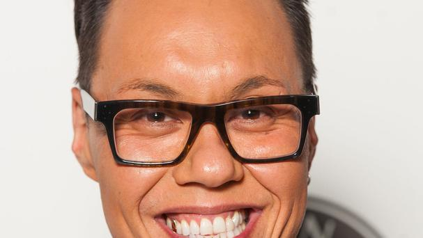 Presenter Gok Wan.