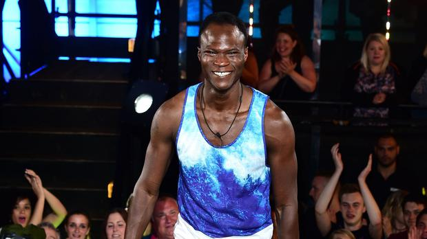 Brian Belo enters the Big Brother house