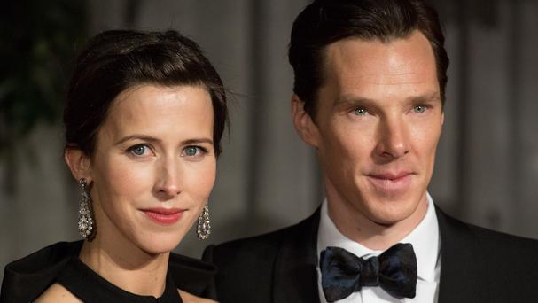 Sophie Hunter and Benedict Cumberbatch, who have had a baby boy