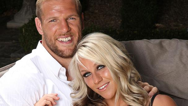 Chloe Madeley and James Haskell appear in this week's edition of Hello! Magazine (Hello! Magazine/PA)