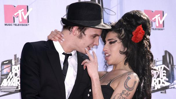 Amy Winehouse and Blake Fielder in 2007