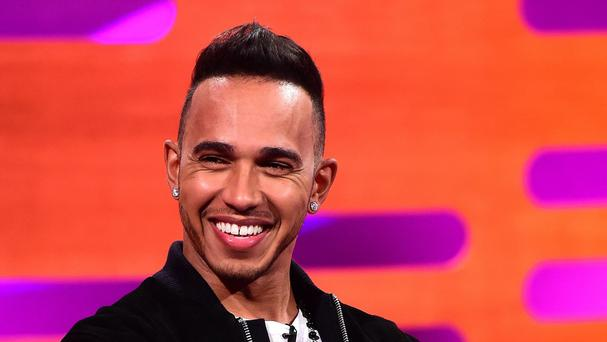 Lewis Hamilton was one of Graham Norton's guests