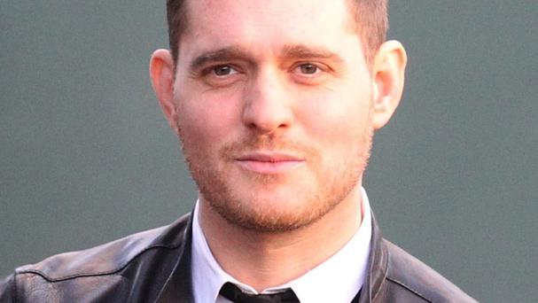Canadian singer Michael Buble was working in the US when his toddler son was injured in Argentina