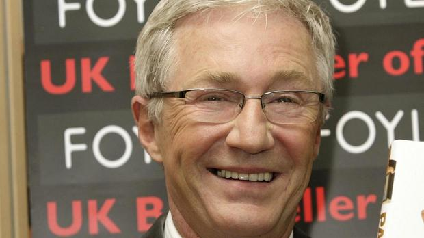 Paul O'Grady inhaled helium from a balloon on his chat show