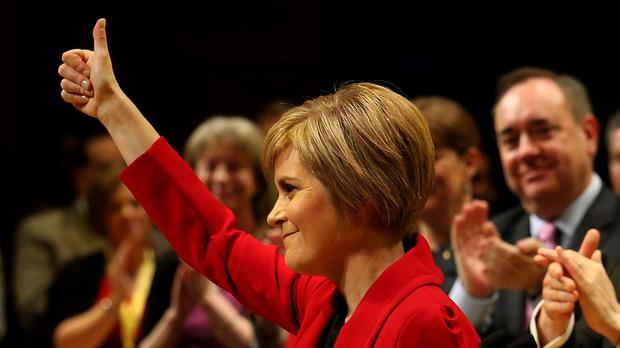 Nicola Sturgeon topped the list