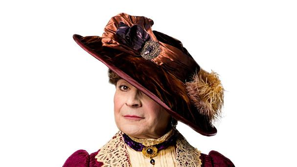 David Suchet as Lady Bracknell in his production of The Importance Of Being Earnest