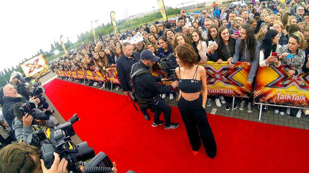 An X Factor spokesman said auditions have been postponed due to