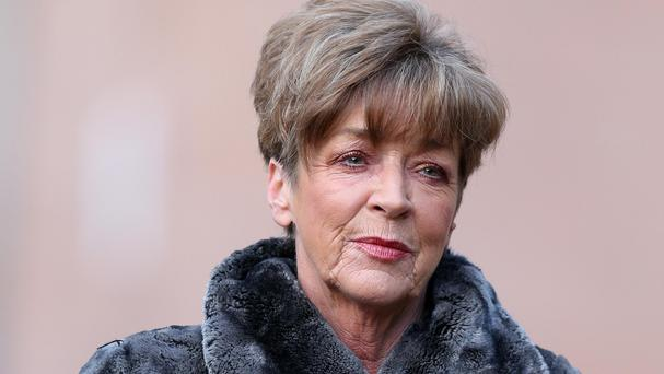 Anne Kirkbride, as Deirdre Barlow, one of Coronation Street's longest-running characters