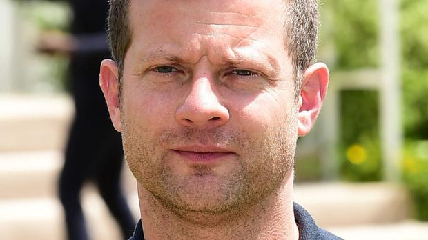 Dermot O'Leary took part in a 24-hour danceathon in aid of Comic Relief