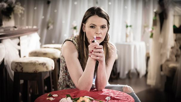 Kate Ford has played Tracy Barlow for over nine years