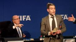 The incident took place at an executive committee Meeting at Fifa Headquarters, Zurich (PA)