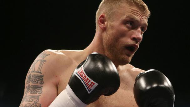 Andrew Flintoff cam back up from the canvas to win the International Heavyweight Contest at the Manchester Arena