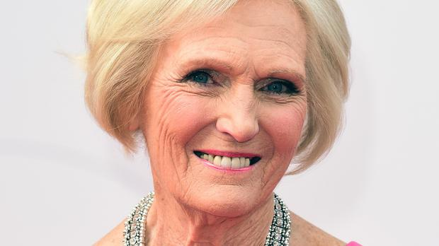 Mary Berry says she wasn't very clever at maths at school