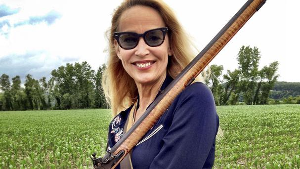 Jerry Hall has returned to her Texan roots for the new series of BBC documentary Who Do You Think You Are? (BBC/PA)