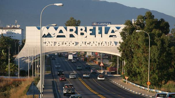 The show is set in Marbella