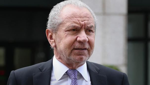 A 17-year-old from Preston admitted sending an offensive tweet to Lord Sugar