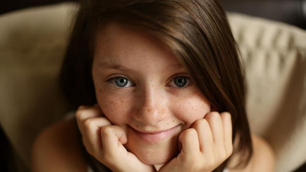 Child actress Lily Aslandogdu is the star of a charity video for Save the Children with almost 50 million online hits