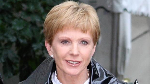 Anne Robinson said the trick for women's longevity on TV is