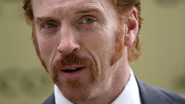 Damian Lewis made a failed attempt to emulate a Goodfellas-style accent for his new film Billions