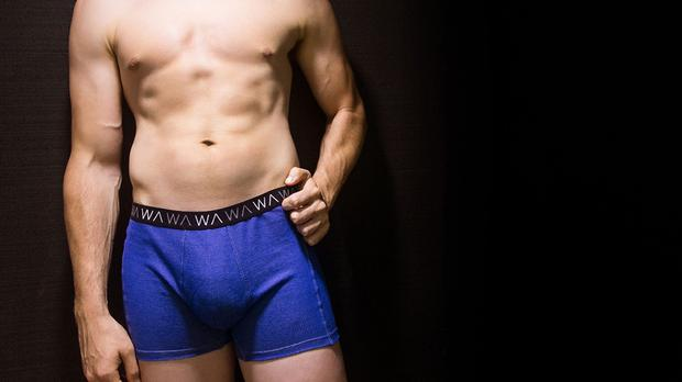The smart underwear is designed to protect male fertility from radiation emitted by smartphones