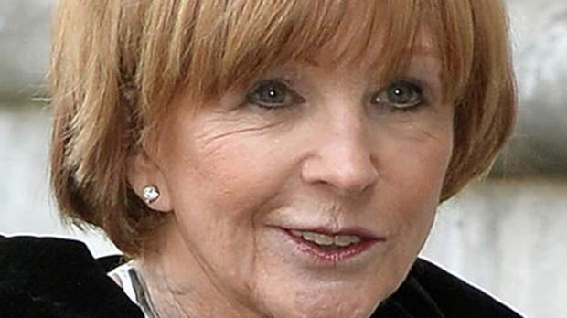 TV's Anne Robinson said she would like to think she is worth more than £50 million