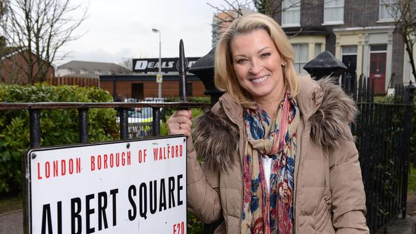 Gillian Taylforth plays Kathy Beale in EastEnders
