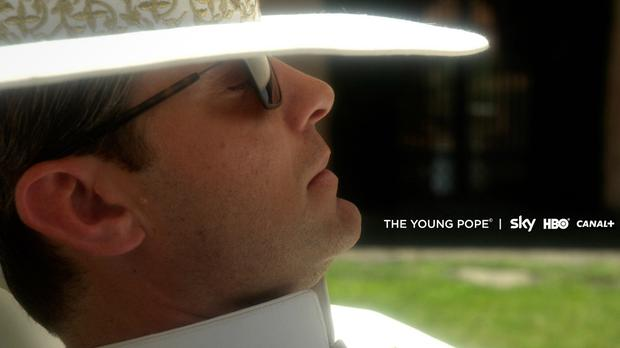 A scene from the Sky, HBO and Canal+ series The Young Pope, featuring Jude Law as fictional, American-born Pope Pius XIII (Sky/HBO/Wildside/PA)
