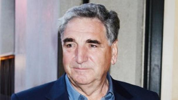 Downton Abbey star Jim Carter said emotions were running high on the final day of filming.