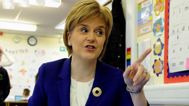 First Minister Nicola Sturgeon says Scotland should have its own BBC channel