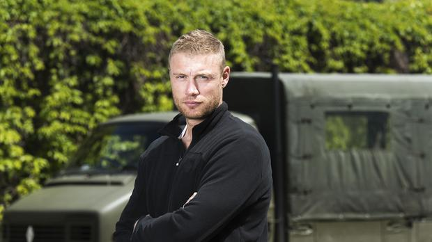 Freddie Flintoff's new TV programme reflects the selection process used by special forces including the US Navy Seals and the UK's SAS (Warren Orchard/BBC/PA)